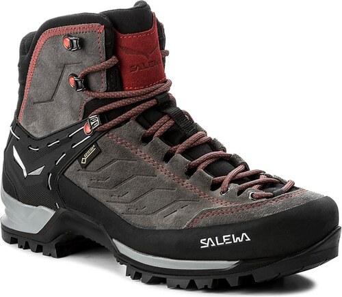 Trekingová obuv SALEWA - Mtn Trainer Mid Gtx GORE-TEX 63458-4720 Charcoal  d368d1458d7