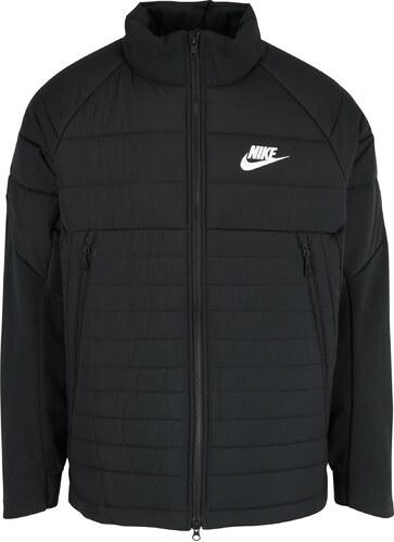 Čierna pánska prešívaná bunda Nike Sportswear Fill - Glami.sk 161b88b5897