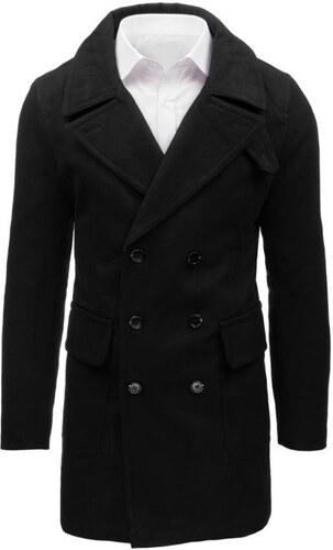 Manstyle Čierny pánsky zimný kabát - Glami.sk dbe06c23446