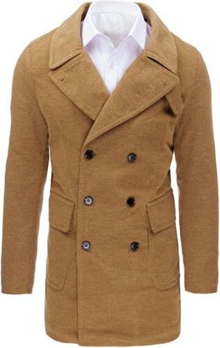 1ff805d40c6f Manstyle Hnedý panský zimný kabát - Glami.sk