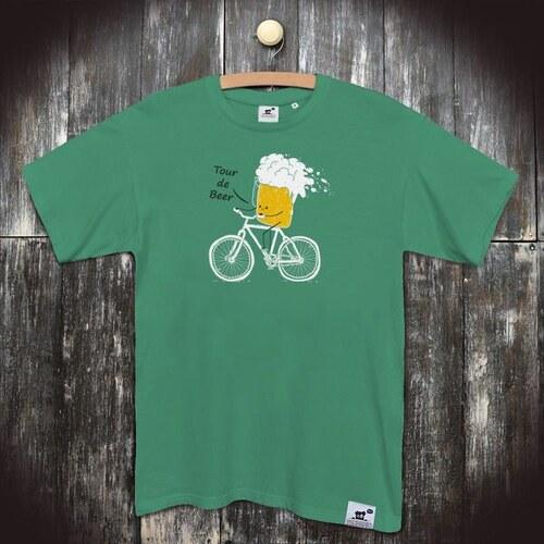 5a70d298a2d3 PANDEMIC Pánské vtipné tričko s potiskem Pivo  Jedu na jedno - Glami.cz