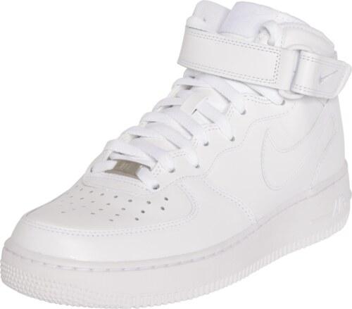Nike Sportswear Kotníkové tenisky  Air Force Mid  bílá - Glami.cz 0aa4f3891bf