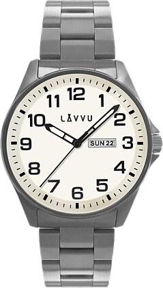 Vodotěsné ocelové pánské hodinky LAVVU BERGEN White LWM0010 - Glami.cz 5b587c7b5f