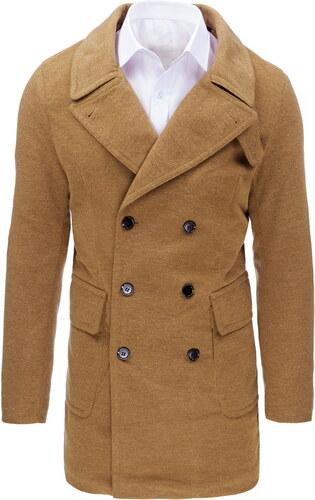 Pánsky zimný kabát vo ťavej farbe (cx0362) - Glami.sk 9b439eabf37
