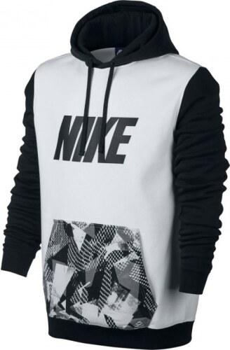 Nike M NSW HOODIE PO FLC SP Pánská mikina 831838-100 - Glami.cz 5542ee42b4c
