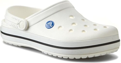 Papucs CROCS - Crocband 11016 White - Glami.hu ba08777ffe