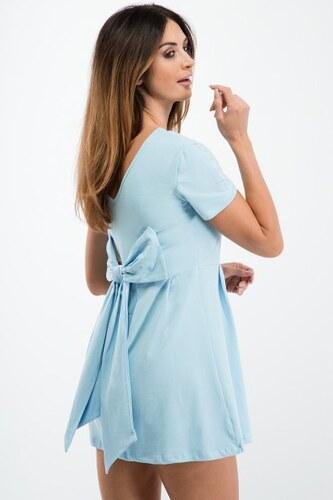 a33e9a0dafe0 Fasardi Jednoduché šaty s krátkym rukávom
