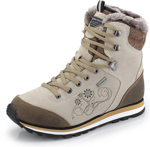 ALPINE PRO XALINA Dámska zimná obuv LBTK143208 36 - Glami.sk 4794d57534