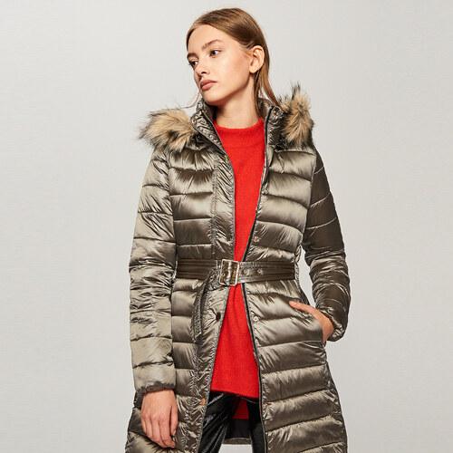 Reserved - Steppelt kapucnis kabát - Arany - Glami.hu fe1ab2ee22