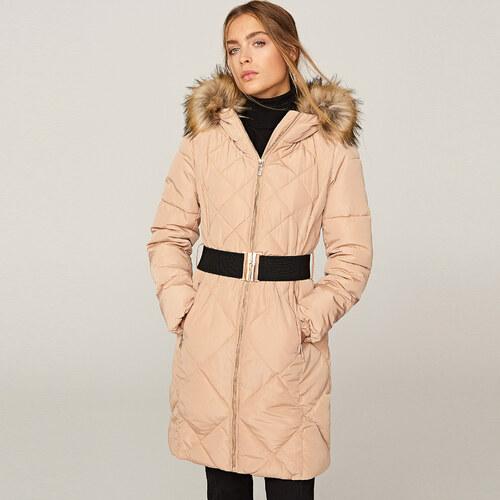 Reserved - Steppelt kapucnis kabát - Bézs - Glami.hu 660864fe2f