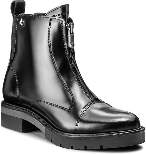 d1bb6afa3a Členková obuv TOMMY HILFIGER - Roxana 4A1 FW0FW01893 Black 990 ...