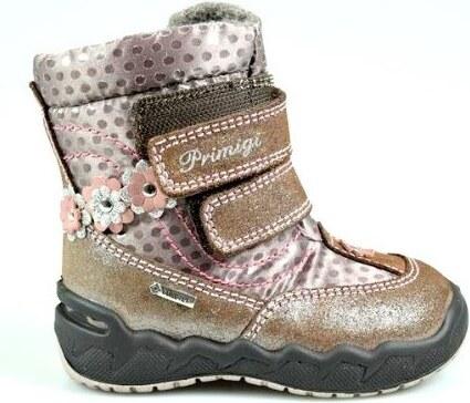 Primigi Dievčenské zimné topánky - hnedé - Glami.sk 7502c2f44e2