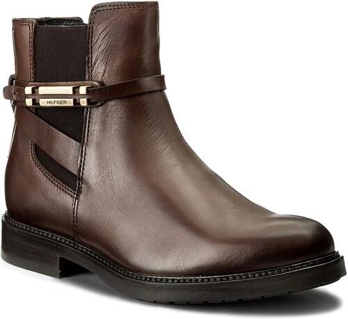 Magasított cipő TOMMY HILFIGER - Holly 15A FW0FW01438 Coffee 211 ... 2feb50682d
