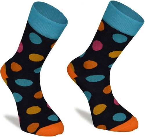 82516088d60 Barevné ponožky SuperSocks Puntiky - Glami.cz