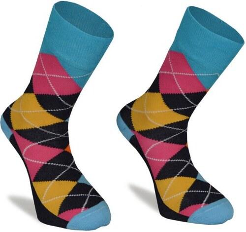 c28d2b56a72 Barevné ponožky SuperSocks Kary - Glami.cz