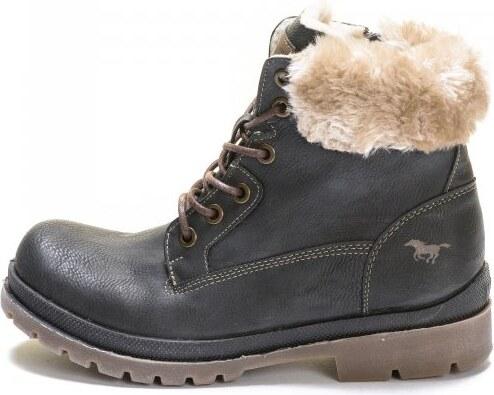 Mustang dámská kotníčková obuv 37 šedá - Glami.cz 8ea02f823d