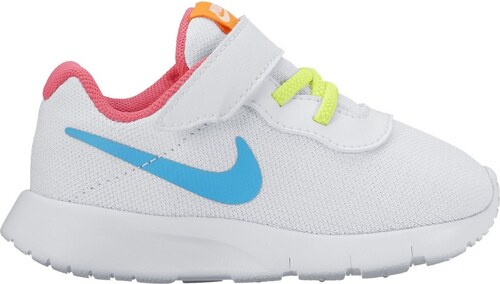 Dětské tenisky Nike TANJUN (TDV) WHITE CHLORINE BLUE-RACER PINK ... 8f72ea0114