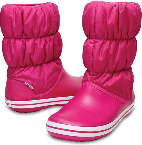 Crocs Dámské sněhule Winter Puff Boot Women Candy Pink Candy Pink 14614-6X3 b98e2711c0