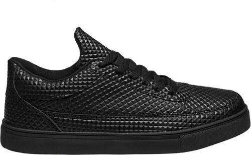 Atraktívne pánske tenisky XC 02 čierne - Glami.sk d59caa1d623