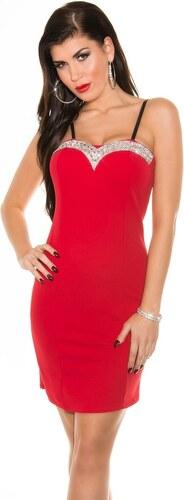 Koucla Koktejlové šaty červené - II. jakost - Glami.sk cf39769edce