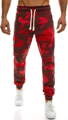 Originální pánské červené maskáčové joggery ATHLETIC 367 - Glami.cz 769474fe20