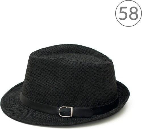 2f0e34d1928 Art of Polo Letní klobouk Trilby Classic černý v.58 - Glami.cz