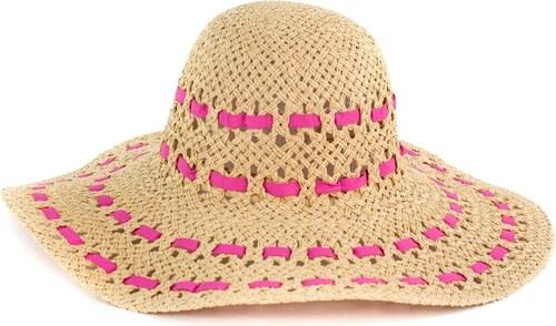 1de5ee1c684 Art of Polo Elegantní klobouk na léto s růžovým prošíváním - Glami.cz