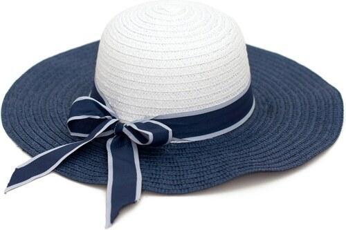 abf17466880 Art of Polo Modro-bílý klobouk na léto s mašlí - Glami.cz
