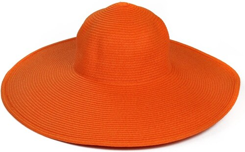 f7fa93e3faf Art of Polo Oranžový klobouk se širokou krempou - Glami.cz