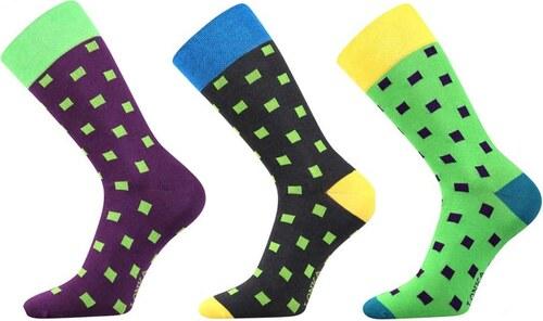 67b6b634547 Lonka luxusní ponožky kostičkované 3 páry - Glami.cz