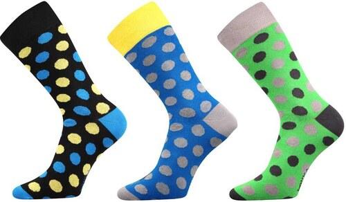 af190baa283 Lonka luxusní ponožky velký puntík 3 páry - Glami.cz