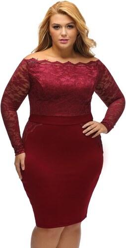 a84ba98531f3 DAMSON Spoločenské šaty plus size - Glami.sk