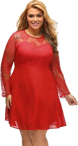DAMSON Spoločenské šaty plus size - Glami.sk d81ba76bff5