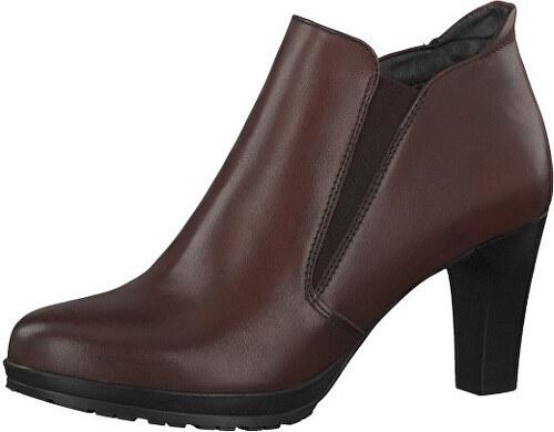 d50b93844f Tamaris Elegantné dámske členkové topánky 1-1-25395-29-549 Bordeaux ...
