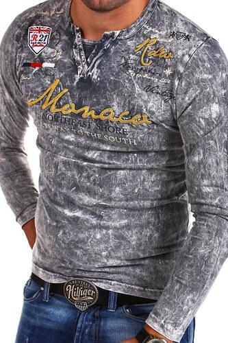 e90f0be8c11 MyTrends Pánské tričko Violento VT-MONACO model R-7295 - Glami.sk