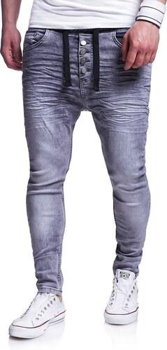 d8f59b8ff2f Behype Pánské džíny Jogg-Jeans Buttons RJ-289 2089 - Glami.cz