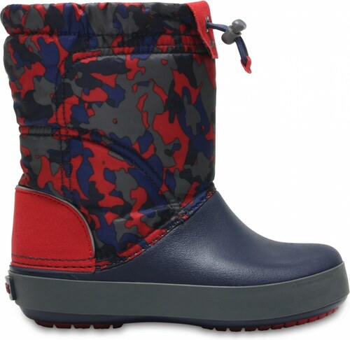 Crocs Crocband LodgePoint Graphic Boot Kids - Navy Pepper - Glami.cz 5ced55cb3b