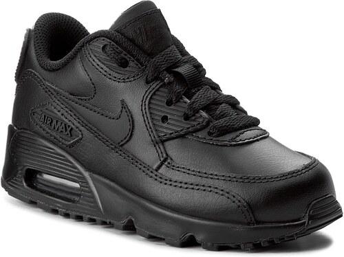 Cipő NIKE - Air Max 90 Ltr (Ps) 833414 001 Black Black - Glami.hu 0e573e1a33