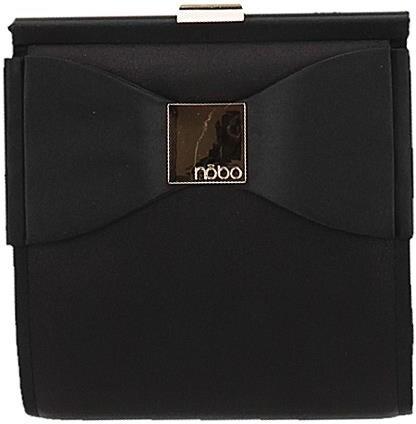 Malá čierna elegantná kabelka NOBO s ozdobnou mašľou - Glami.sk 3a3b3062baf