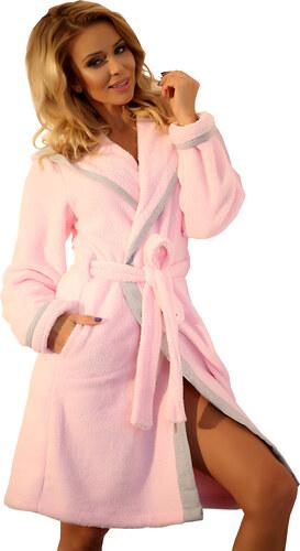 Wanmar Női fürdőköpeny Nefelejcs világos rózsaszín - Glami.hu 6b97ce8602