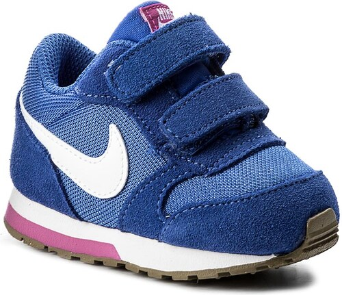 Cipő NIKE - Md Runner 2 (Tdv) 807328 404 Comet Blue White Fire Pink ... 1808f21673