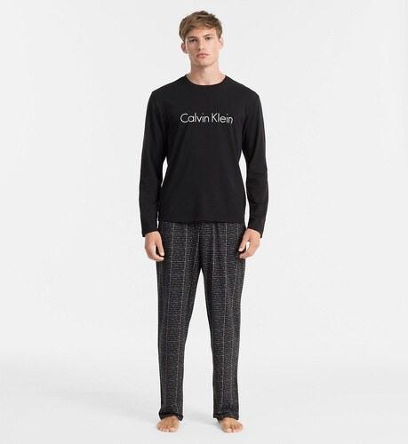 34ec42c20 Pánské pyžamo NM1338E - Calvin Klein - Černá s potiskem/XL - Glami.cz