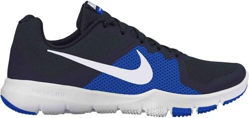 d635a7cefcc Pánská fitness obuv Nike FLEX CONTROL OBSIDIAN WHITE-HYPER COBALT ...