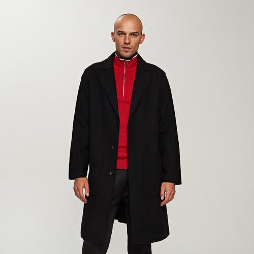 4ae097cee7 Reserved - Gyapjú kabát - Fekete - Glami.hu