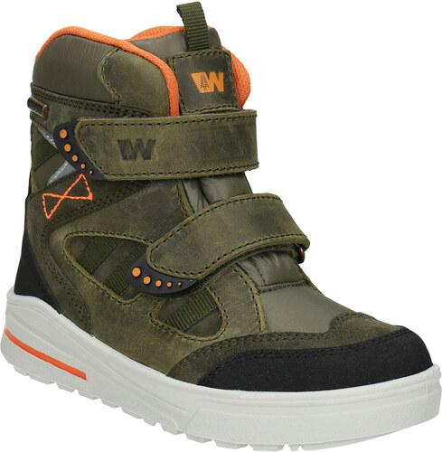 Weinbrenner junior Detská zimná obuv z kože - Glami.sk 646c682063d