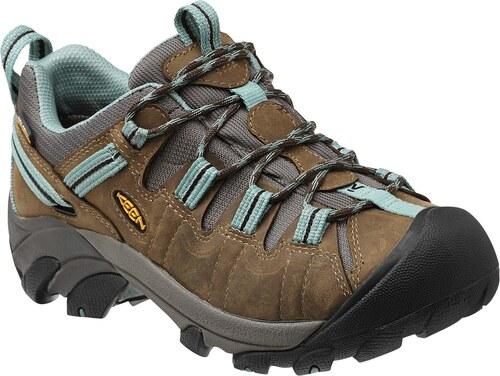 KEEN Targhee II WP black olive mineral blue - dámské trekingové boty akce 0fcd5f2d51