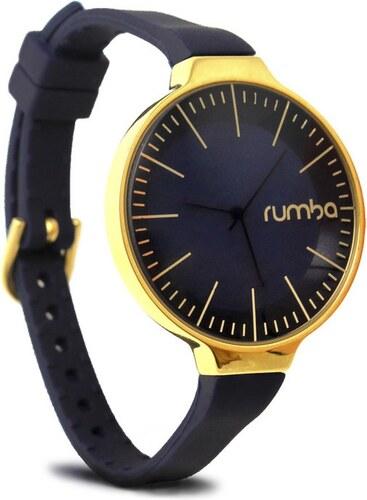 Rumbatime Dámské hodinky Orchard Gold Midnight Blue - Glami.cz 190e32cb596