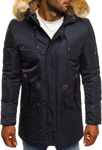 Téli sötét kék kabát J.BOYZ 1049 - Glami.hu 45924e474f