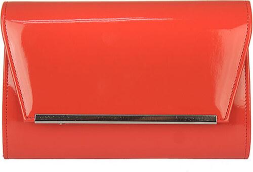 Červená listová kabelka AW-W52 - Glami.sk 9606f4f54f8