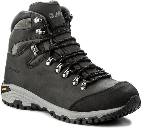 a59e2d4919b Trekingová obuv HI-TEC - Sajama Mid Wp AVSAW17-HT-01 Black Dark Grey ...